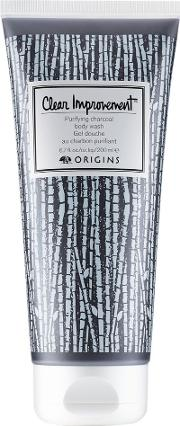 Clear Improvement Purifying Charcoal Body Wash