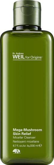 Dr. Andrew Weil For  Mega Mushroom Micellar Cleanser