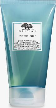 Zero Oil Deep Pore Cleanser With Saw Palmetto And Mint