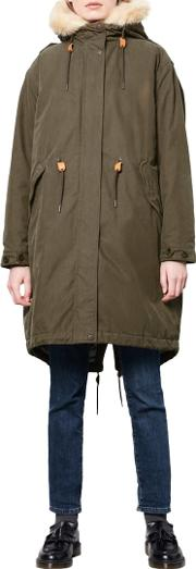 Connie Military Parka