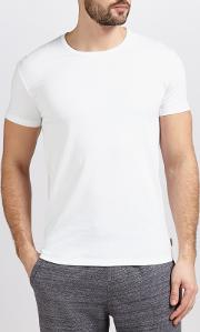 Cotton Lounge T Shirt, White