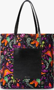 Earthling Floral Canvas Tote Bag