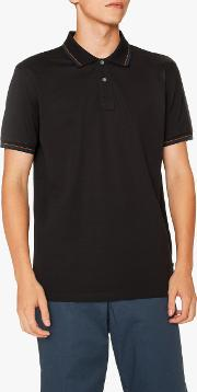 Ps  Tipped Short Sleeve Polo Shirt
