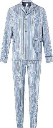 Signature Stripe Cotton Pyjamas