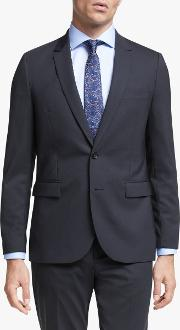 Wool Stretch Tailored Fit Suit Jacket