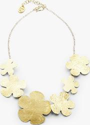 Daisy Brass Necklace