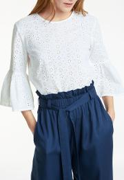 Mary Broderie Top