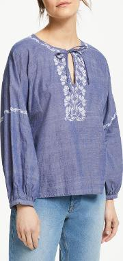 Serena Embroidered Blouse