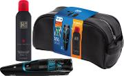 Bt720213 Series 7000 Beard And Stubble Trimmer With Integrated Vacuum System & Rituals Shower Foam & Wash Bag