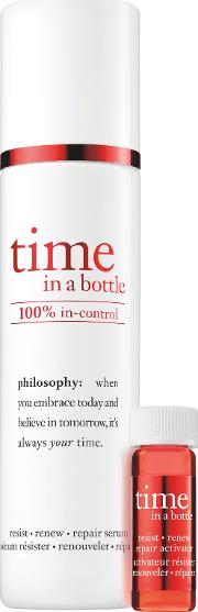 Philosophy Time In A Bottle 100 In Control Serum