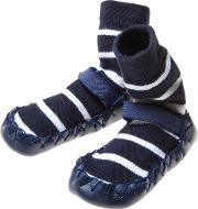 Baby Stripe Moccasins