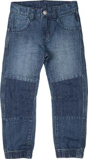 Polarn O. Pyret Baby Jeans, Blue