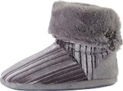 Vida Turn Down Boot Slippers