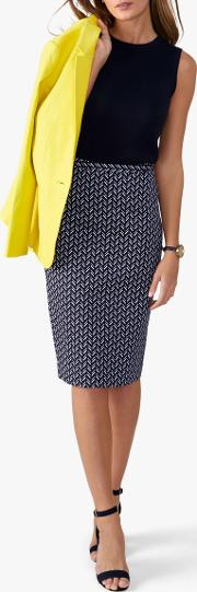 9d857c862 Shop Printed Pencil Skirt for Women - Obsessory