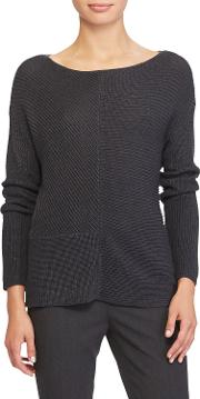 Lauren  Breonica Ribbed Sweater