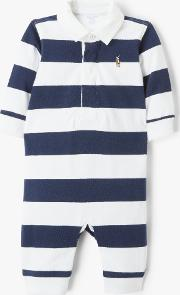 Polo  Baby Rugby Bodysuit