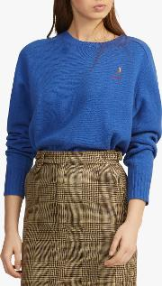 Polo  Embroidered Pony Jumper