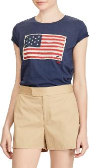 Polo  Flag T Shirt