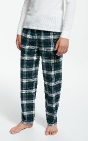 Polo  Flannel Check Lounge Pants