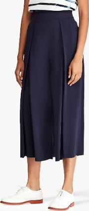 Polo  Pleated Wide Leg Trousers