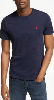 Polo  Short Sleeve Custom Fit Crew Neck T Shirt
