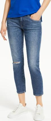 Polo  Tompkins Cropped Skinny Jeans