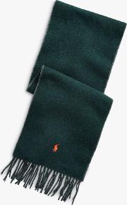 Polo  Wool Blend Scarf