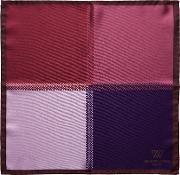 Pixel Four Square Silk Pocket Square