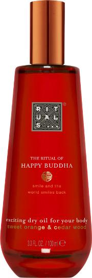 The Ritual Of Happy Buddha Dry Body Oil