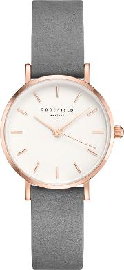 Women's The Small Edit Leather Strap Watch