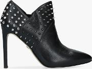 Wally Leather Stud Shoe Boots
