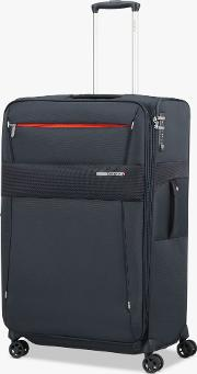 Duopack 78cm 4 Wheel Expandable Large Suitcase