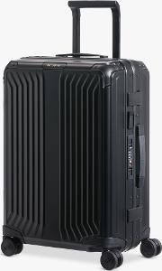 Lite Box 55cm 4 Spinner Wheel Aluminium Suitcase
