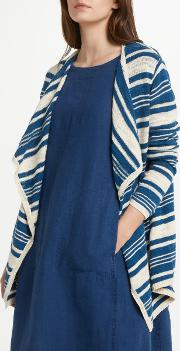 Fulmar Striped Waterfall Cardigan