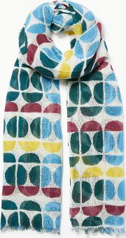 Tranquil Linen Cotton Scarf