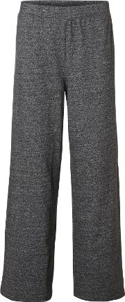 Lissa Loose Fit Sweat Pants, Dark Grey Melange