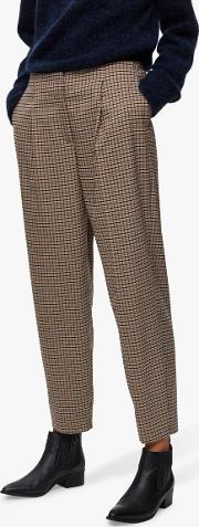 Margery Check Trousers