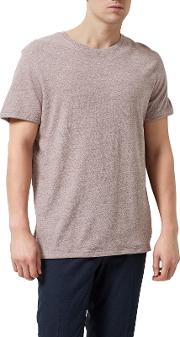 Spun Crew Neck T Shirt