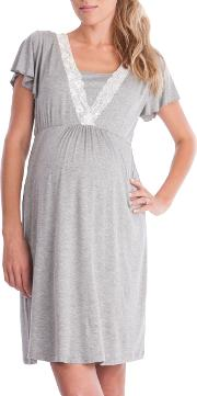 Seraphine Maternity Meadow Nightdress