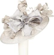 Charlotte Large Disc Occasion Hat