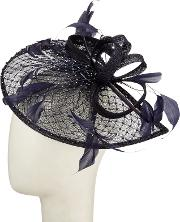 Diamante Teardrop And Loops Fascinator