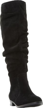 Beacon Ruched Knee High Boots