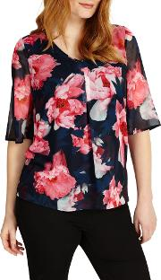 Iona Floral Print Blouse