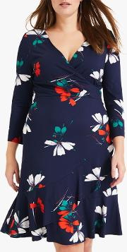 Paola Floral Printed Dress