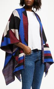 Gana Patchwork Print Throw Cardigan