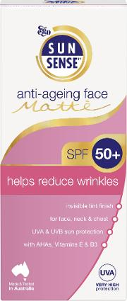 Daily Anti Ageing Face Matte Spf50 Sunscreen