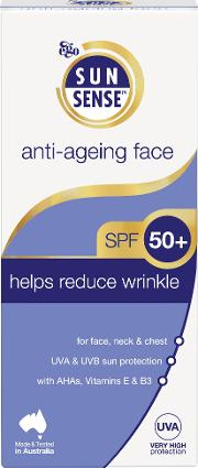 Daily Anti Ageing Face Spf 50 Sunscreen