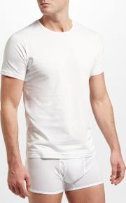 Short Sleeve Underwear Crew Neck T Shirt
