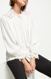 Timote Embroidered Detail Blouse