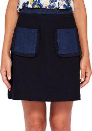 Aaloo Colour By Numbers Denim Skirt